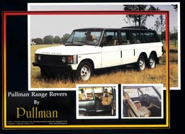 1983 Pullman Range Rover 6 wheel 4 door Conversion
